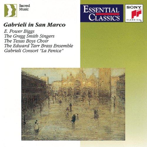 Gabrieli in San Marco - Music for a capella choirs and multiple choirs, brass & organ