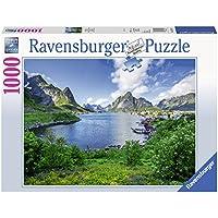 Ravensburger 19711 Puzzle Sguardo sulle Lofoten Norvegia, 1000 Pezzi