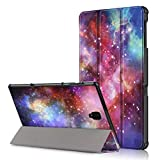"KATUMO. Samsung Galaxy Tab S4 10.5 Custodia Cover - Ultra Slim PU in Pelle Custodia per Samsung Galaxy Tab S4 10.5"" (SM-T830 / T835) 2018 Tablet, Galassia"