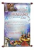 Husband Birthday Scroll Card