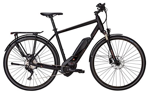 E-Bike 28 Zoll schwarz - Bulls Cross Lite E Elektrofahrrad - Akku 500Wh, Shimano Schaltung 11 Gänge