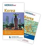 MERIAN live! Reiseführer Korea: MERIAN live! - Mit Kartenatlas im Buch und Extra-Karte zum Herausnehmen