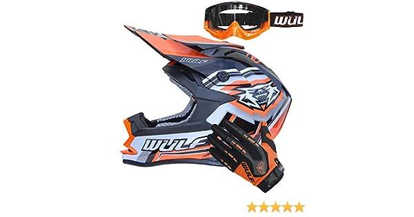 Wulf Vantage Motocross Helmet