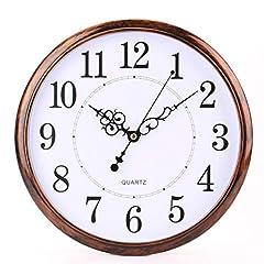 Idea Regalo - Tosnail 30 cm Orologio da Parete di Silenzioso Stile Vintage Decorazione a Muro