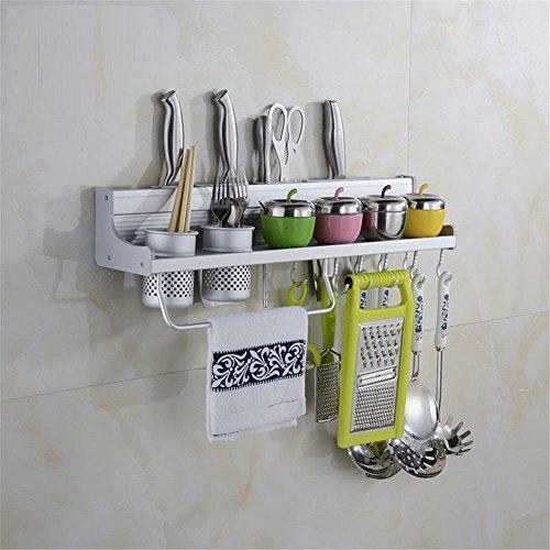 Montage Aluminium Küche zum Kochen-Cooking Utensil Küche Werkzeug mit Ablage Halter Aufbewahrung 40cm-80cm? Produkte werden nicht enthalten. 2 - Punk-werkzeug-gürtel