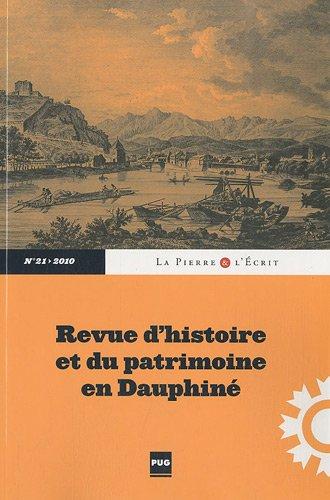 La Pierre et l'Ecrit, N° 21/2010 :