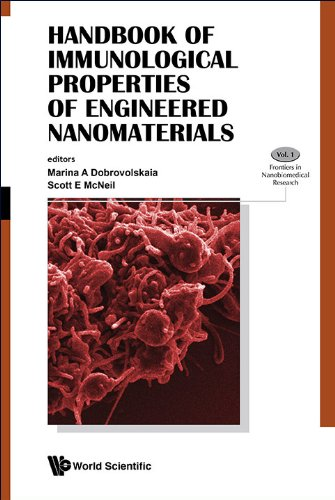 Handbook Of Immunological Properties Of Engineered Nanomaterials (frontiers In Nanobiomedical Research 1) por Scott E Mcneil