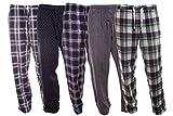 Herren Flanell Webhose - Pyjamahose - Schlafanzughose M