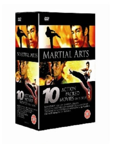 Bild von 10 Pack: Martial Arts (including KickBoxer 3, Bruce Lee the Immortal Dragon, Expect No Mercy, Guardian Angel, Tough & Deadly, & five more) [DVD] [2007] [UK-Import]