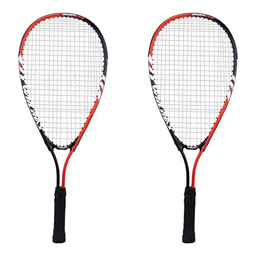 Preisvergleich Produktbild Winmax Squash Schläger Set mit 2 Squashschlägern und einer Tragetasche