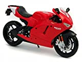Maisto Ducati Desmosedici motorcycle, All Red 31190–1/12scale DieCast Model motorcycle