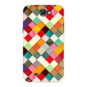 ColorFull Ribbons Print Back Case Cover for Galaxy Note 2