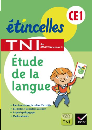Etincelles CE1 éd. 2013 Etude de la langue - Activités pour TNI CD Rom