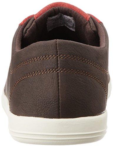 British Knights Uomo Scarpe / Sneaker Copal PU Dk. brown/red