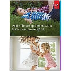 Adobe Photoshop Elements 2018 & Premiere Elements 2018 | Upgrade | PC/Mac | Disc