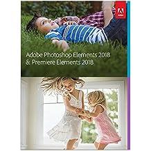 Adobe Photoshop Elements 2018 & Premiere Elements 2018 | Standard | PC/Mac | Disque
