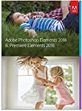 Adobe Photoshop Elements 2018 & Premiere Elements 2018 | Standard | PC/Mac | Disque