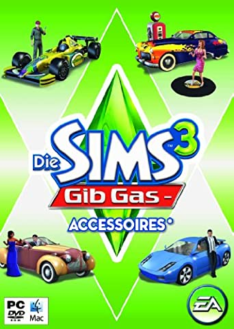 Die Sims 3: Gib Gas- Accessoires (Add - On) (Pc The Sims 3)