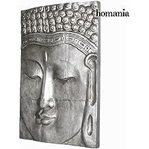 Cuadro buda plata 80x120cm. by Homania