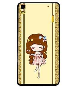 Fuson 2D Printed Girly Designer Back case Cover for Lenovo A7000 - D4451