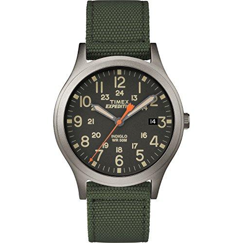 Timex Expedition Scout Armbanduhr, 36 mm grün/schwarz