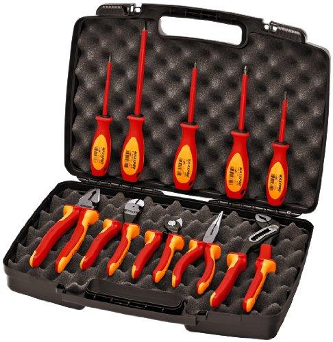 Knipex 989830us 10–1000V Isolierte Zangen, Schere, und Schraubendreher industriellen Werkzeug Set
