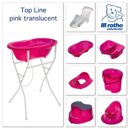 Rotho Babydesign 200020210 Top Windeleimer, translucent pink - 3