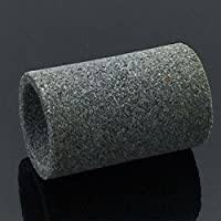Forfar 5Pcs / Set Sharpening Stone ronde acier professionnel Astuce Point Needle Sharpener Darts Accessories Grès