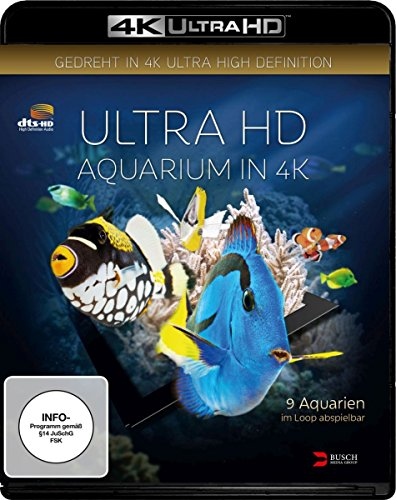 Aquarium (4K Ultra HD) [Blu-ray] [Alemania] 51mbk787w6L
