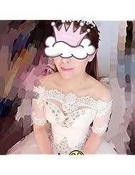 &huahua Hombro de mantón de novia cadena/collar/la joyería/de la boda accesorios/cordón/moda/capa/fina/ancho: 30cm largo: 88cm , s