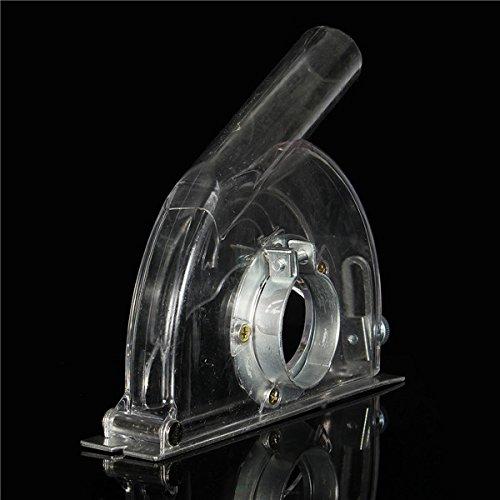 HELEISH Winkelschleifer Schneiden Staubschutzhaube Transparenter Schleifstaubschutz Für 4 5 Zoll Winkelschleifer Zubehörwerkzeug (Winkelschleifer 5 Zoll)