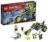 LEGO Ninjago 70730 - Kettenrad-Hinterhalt