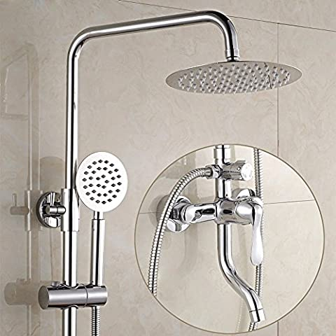 sdkky Dusche Wasserhahn, drei Dusche, Dusche Badezimmer Badewanne Wasserhahn