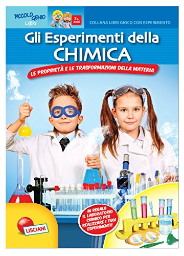 Gli esperimenti della chimica. Libro gioco con esperimento. Con gadget