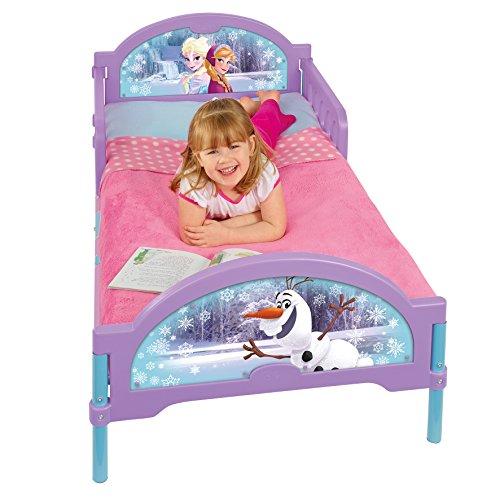 Worlds Apart 455FZN Frozen Cosytime Toddler Bed (Kids Frozen Kleinkind Bett)
