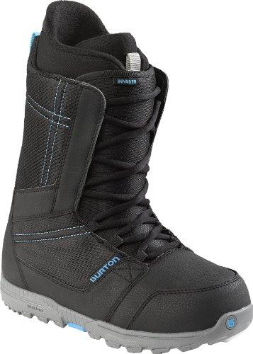 Burton Herren Boots Invader, Black/Cyan, 7.0, 10651101040