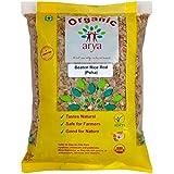 Arya Farm Organic Poha ( Red ) , 500 g , Pack of 2