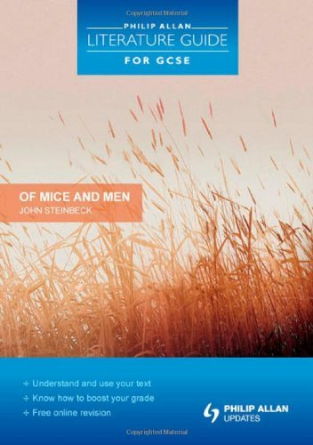 """Philip Allan Literature Guide (for GCSE): """"Of Mice and Men"""" Study and Revision Guide by Eddy, Steve (March 26, 2010) Paperback"""