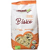 The Muesly Up Muesli Básico Sin Azúcar Gluten Free - Paquete de 6 x 350 gr