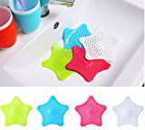 FANYI 1*4PCS Colorful Drain Hair Catcher Strong Suction Bath Stopper Strainer Filter Shower Cover...