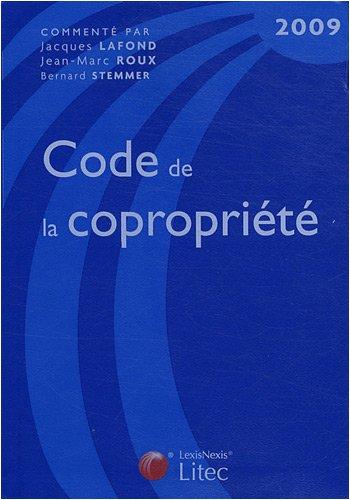 Code de la copropriété (ancienne édition)