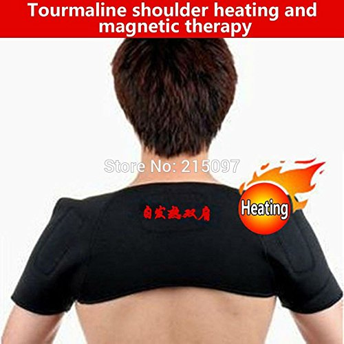 sypure £ š TM) Spontaneous Magnetic Tourmaline Body Shoulder Therapy Massager Self-heating Belt Pain Relife Protection Support