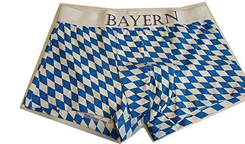 Fabulous Champion Bayern - Unterhose, Blau Weiß, XL