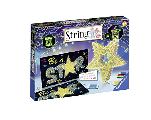 Ravensburger-18052-String-it-Maxi-3D-Stars–Glow-in-the-Dark-Kit-de-jeu
