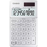 CASIO SL-1000TW-WE calcolatrice tascabile - Display a 10 cifre, struttura in metallo di colore bianco - Confronta prezzi