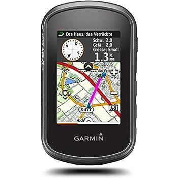 Garmin eTrex Touch 35 Fahrrad-Outdoor-Navigationsgerät - mit vorinstallierter Garmin Topoactive Karte, Smart Notifications und barometrischem Höhenmesser, 010-01325-11