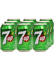 7 UP Refresco - Pack de 9 x 33 cl - Total: 2970 ml