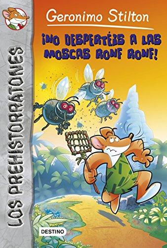 ¡No despertéis a las moscas Ronf Ronf!: Prehistorratones 15