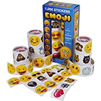 Kangaroo Emoji Universe: Mega Sticker Assortment, 1000 Unique Emoji Stickers