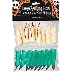 Amscan Internacional bruja y el dedo vampiro maquillaje